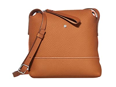 ECCO Jilin Tandem Small Crossbody (Amber/Apricot) Cross Body Handbags