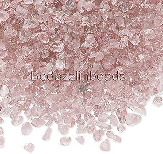 50 Grams Small Undrilled Gemstone Embellishment Chip Pieces (Rose Quartz)