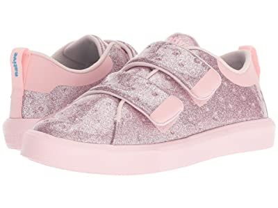 Native Kids Shoes Monaco HL Glitter (Little Kid) (Pink Glitter/Cold Pink) Girls Shoes