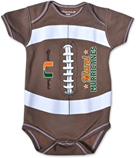 College Kids NCAA Unisex-Child MVP Football Bodysuit