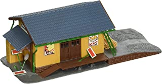 Model Power Farmingdale Freight Station Lighted With Two Figures (Built-Up)
