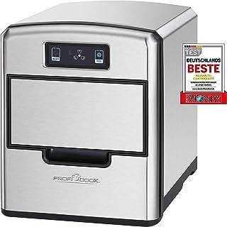 ProfiCook PC-EWB 1187 IJsblokjesmaker, sensor touch-bedieningspaneel, ijsblokjes beschikbaar na enkele minuten, 3 maten ij...