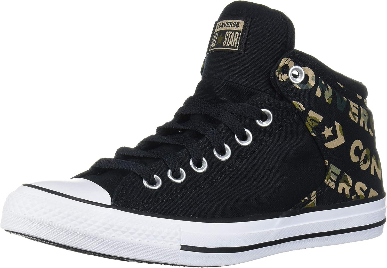 Converse Men's Chuck Taylor All Star Logo Camo Print Street High Top Sneaker