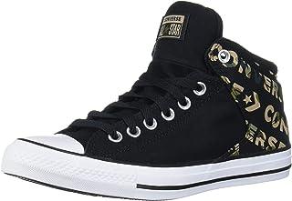 حذاء رياضي برقبة عالية مطبوع عليه شعار Chuck Taylor All Star من Converse