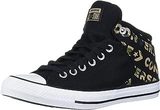 Chuck Taylor All Star Logo Camo Print Street High Top Sneaker