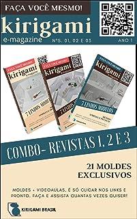 Kirigami - COMBO edições 01,02 e 03