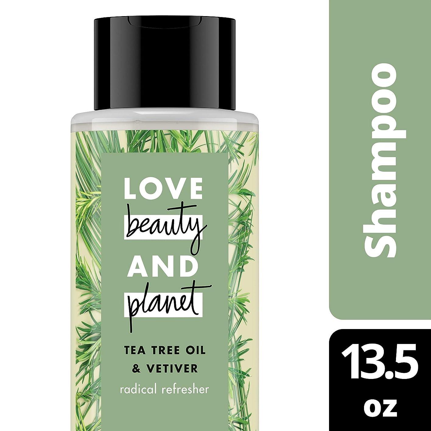 分リネン守るTea Tree Oil and Vetiver Shampoo