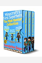The Mob Hunter Collection: Herobrine Saga: (Includes Books 1, 2, and 3) Unofficial Minecraft Superhero Series (The Mob Hunter: Collected Sagas) Kindle Edition