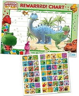 Paper Projects 01.70.30.017 'The World of Dinosaur' wykres nagród i naklejki
