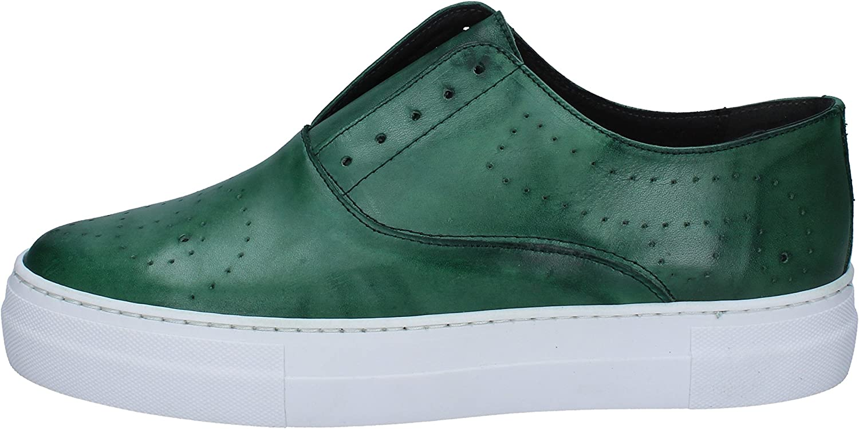 SALVO FERDI Fashion-Sneakers Mens Leather Green
