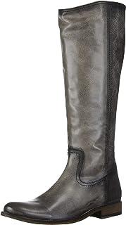 حذاء برقبة طويلة للركبة بسحاب ميليسا انسايد للنساء من FRYE، جرافيت ، 6. 5 M US