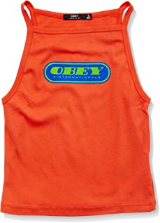 OBEY CLOTHING Women's Obey Pill Font Tank