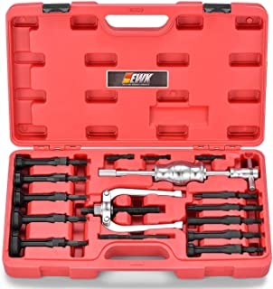 EWK 16 Pcs Internal Blind Hole Pilot Bearing Puller Extractor Inner Slide Hammer Removal Tool Set