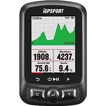 Ciclocomputador GPS iGPSPORT iGS618 inalámbrico bicicleta Ciclismo con mapa de rutade navegación(Mostrar en español): Amazon.es: Deportes y aire libre