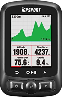 Ciclocomputador GPS iGPSPORT iGS618 inalámbrico bicicleta Ciclismo con mapa de rutade navegación(Mostrar en español)