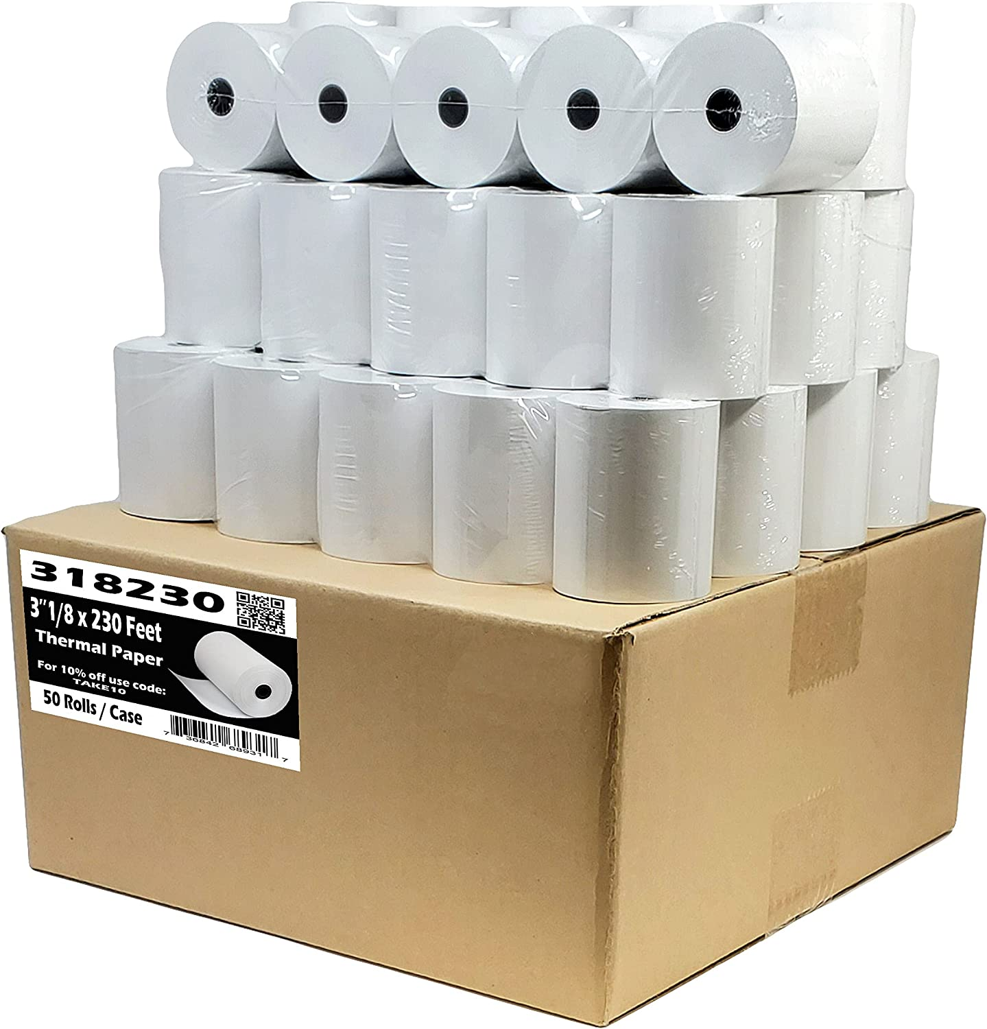 55GSM - Shrink Wrap 3 Free shipping on posting reviews 1 8 Feet Thermal Max 76% OFF Clover Paper Station x230