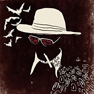 Poly Posters #80 2' x 2' Pop Art Abstract Print Ralph Steadman Hunter S Thompson Gonzo Fear and Loathing in Las Vegas John Depp Painting Artwork