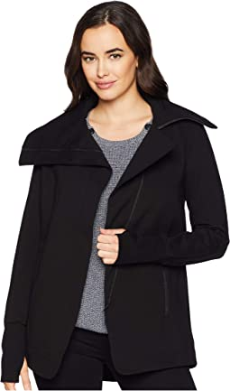 Asymmetrical Jacket in Super Stretch Ponte Knit
