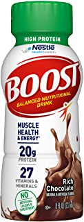 Boost High Protein Chocolate Drink, 8 Fl Oz (Pack of 6)