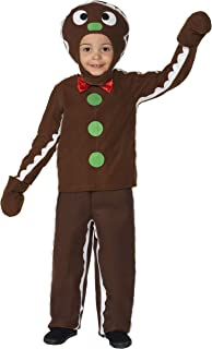 smiffy's Little Gingerbread Man Costume, Brown, Small - Age 4-6 Years, 35939S