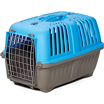 "MidWest Homes for Pets Spree Travel Pet Carrier, Dog Carrier Features Easy Assembly and Not the Tedious ""Nut & Bolt"" Assembly of Competitors"