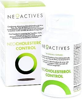 NeoCholesterol Control | Con levadura de arroz rojo, co-enzima Q10, extractos de ajo y hoja de olivo. Ayuda controlar los niveles de colesterol | Recomendado 1 capsula x día (90)