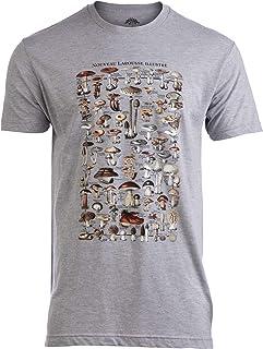 Sponsored Ad - Vintage Mushrooms Illustration | Morel Hunter Shroom Nature Art Men Women T-Shirt