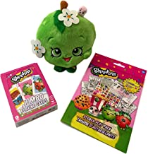 Shopkin Apple Blossom Gift Set including 6 inch Apple Blossom Plushie, Deck of Shopkin Playing Cards and Shopkin Sticker Play Pack