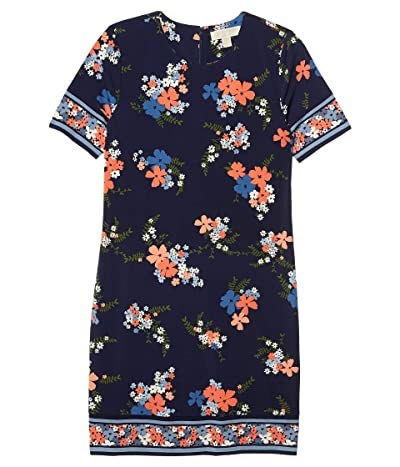 MICHAEL Michael Kors Blooming Bouquet Dress (Coral Peach) Women