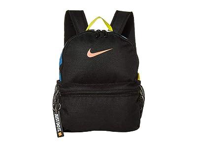 Nike Kids Brasilia JDI Mini Backpack (Little Kids/Big Kids) (Black/Black/Magic Ember) Backpack Bags