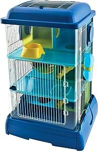 Ware Manufacturing Critter Universe AvaTower Hamster, Mice & Gerbil Habitat, Small, Blue, Model:02245