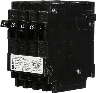 Siemens Q21515CT 15-Amp Double Pole Two 15-Amp Single Pole Circuit Breaker