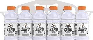 Gatorade G Zero Thirst Quencher, Glacier Cherry, 12 Ounce Bottles, 12 Count