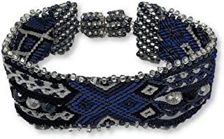 jeweled cross bracelet