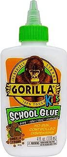 Gorilla 2754201 School Glue, 1-Pack, White