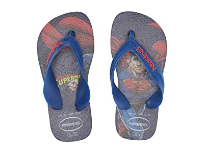 Havaianas Kids Max Heroes Flip Flops (Toddler/Little Kid/Big Kid) (Marine Blue) Boys Shoes