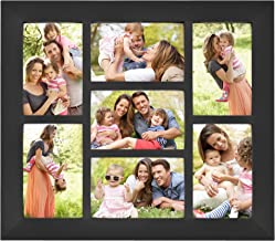 MCS 14x16 Inch Collage Picture Frame with 7-4x6 Inch Openings, Black (65531)