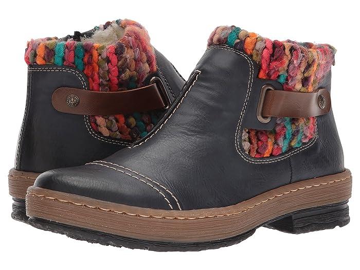 Rieker  Z6784 (Ozean/Mogano/Multi) Womens Dress Boots