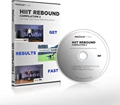 HIIT Rebound Mini Trampoline Exercise DVD Compilation #2 | 3 x High Energy Home Fitness Workouts to Take You to The Next Level | Burn Fat | Get Lean and Shredded Fast! by Maximus Pro Rebounder Team