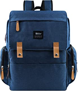 MIGER Diaper Bag Backpack, Large Baby Nappy Nursery Bag with Changing Pad