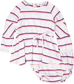 Heather Stripe Dress (Infant)