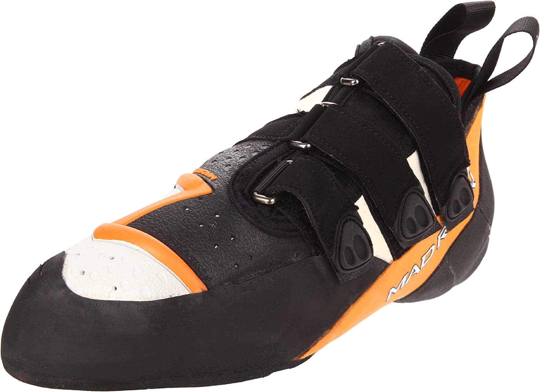Mad Rock Demon 2.0 Climbing shoes orange White Black, 10.0