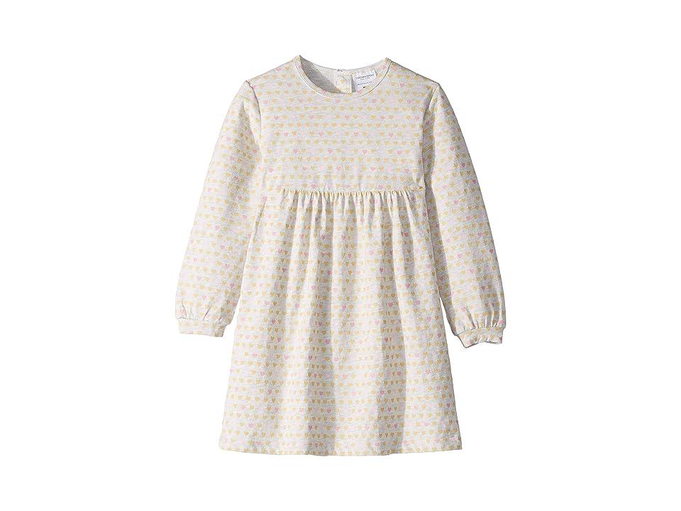 Toobydoo Empire Waist Dress (Toddler/Little Kids/Big Kids) (Multi Heart) Girl