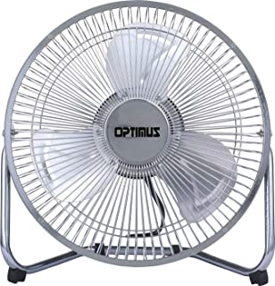 Optimus F-4092 9-Inch Industrial-Grade High-Velocity 2-Speed Fan