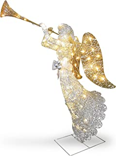 Best outdoor lighted christmas angel decorations Reviews