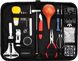 Eventronic Kit de Réparation de Montre,Kit Réparation Montre Outils Professionnel Outil de réparation Professionnels Rempl...