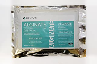 Signature Alginate Mold Material Life Casting 1LB - (484g) Molding Powder