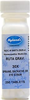 Hyland's Ruta Graveolens, 250 Tablet