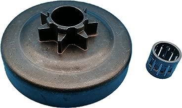 Tuzliufi Replace Clutch Drum Sprocket Needle Bearing Husqvarna 31 340 345 346 346XP 350 445 445E 450 450E 578097901 Jonsered 2145 2150 McCulloch PM5000 .325