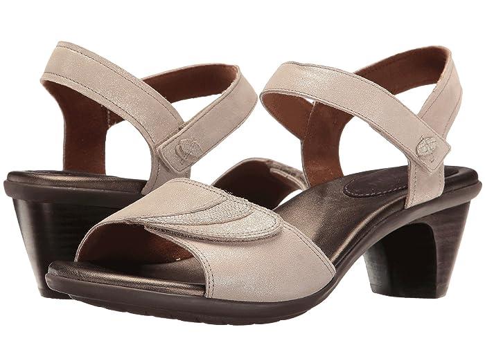 Aravon  Medici Sandal (Metallic) Womens Sandals